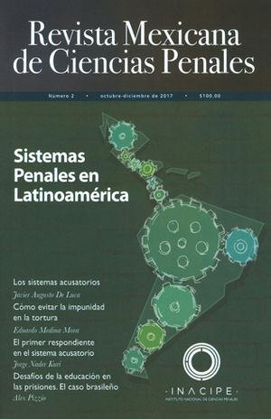REVISTA MEXICANA DE CIENCIAS PENALES NUM. 2. OCTUBRE/DICIEMBRE 2017
