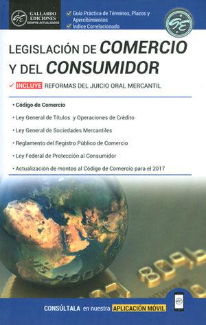 LEGISLACIÓN DE COMERCIO Y DEL CONSUMIDOR. 2018