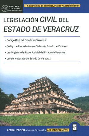 LEGISLACIÓN CIVIL DEL ESTADO DE VERACRUZ. 2018
