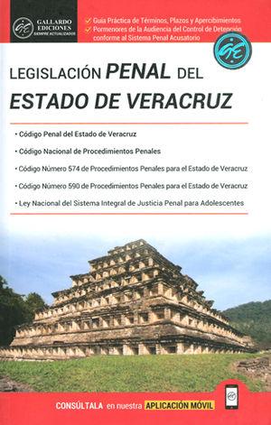 LEGISLACIÓN PENAL DEL ESTADO DE VERACRUZ. 2018