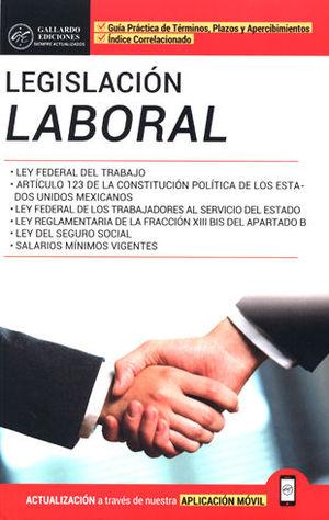 LEGISLACIÓN LABORAL. ED. 2018