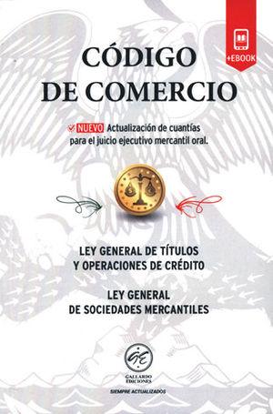 CÓDIGO DE COMERCIO 2018 (+EBOOK)