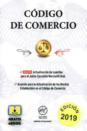 CÓDIGO DE COMERCIO. 2019