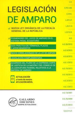 LEGISLACIÓN DE AMPARO. 2019