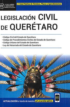 LEGISLACIÓN CIVIL DE QUERÉTARO 2020