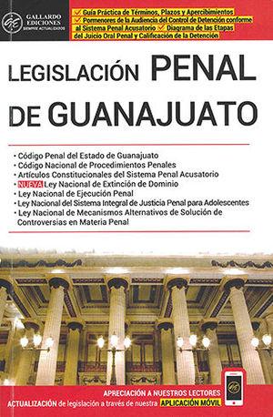 LEGISLACIÓN PENAL DE GUANAJUATO (2020)