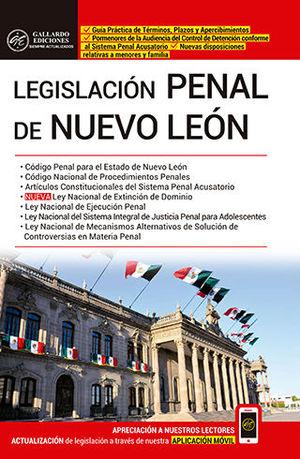 LEGISLACIÓN PENAL DE NUEVO LEÓN (2020)