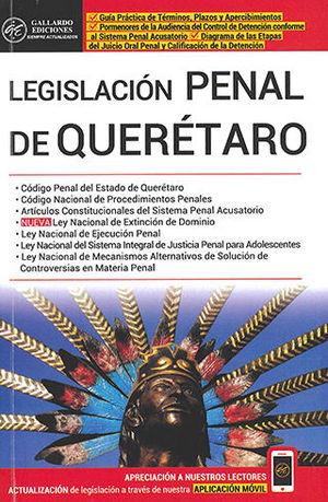 LEGISLACIÓN PENAL DE QUERÉTARO (2020)