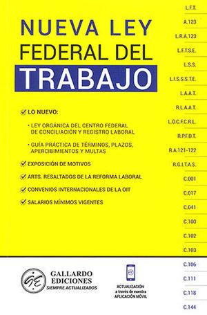 NUEVA LEY FEDERAL DEL TRABAJO (2020)