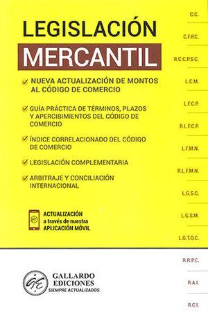 LEGISLACIÓN MERCANTIL 2020