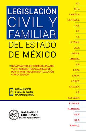 LEGISLACIÓN CIVIL Y FAMILIAR DEL ESTADO DE MEXICO (2020)