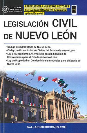 LEGISLACIÓN CIVIL DE NUEVO LEÓN 2020