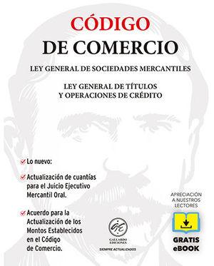 CÓDIGO DE COMERCIO 2020 (GRATIS EBOOK)