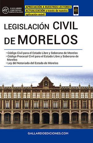 LEGISLACIÓN CIVIL DE MORELOS (2020)