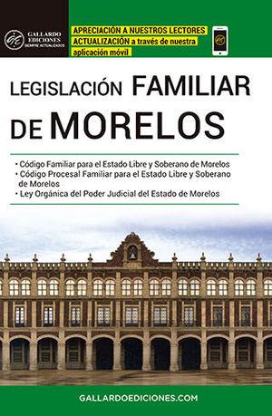 LEGISLACIÓN FAMILIAR DE MORELOS (2020)