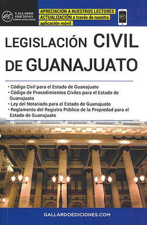 LEGISLACIÓN CIVIL DE GUANAJUATO (2020)