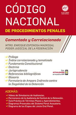CÓDIGO NACIONAL DE PROCEDIMIENTOS PENALES 2020