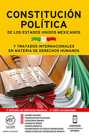 CONSTITUCIÓN POLÍTICA DE LOS ESTADOS UNIDOS MEXICANOS Y TRATADOS INTERNACIONALES EN MATERIA DE D. H. 2020