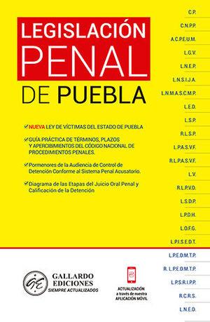 LEGISLACIÓN PENAL DE PUEBLA (2020)