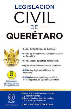 LEGISLACIÓN CIVIL DE QUERÉTARO (2021)