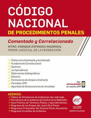 CÓDIGO NACIONAL DE PROCEDIMIENTOS PENALES - COMENTADO Y CORRELACIONADO - 7ª ED. 2021