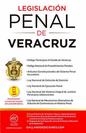 LEGISLACIÓN PENAL DE VERACRUZ (2021)