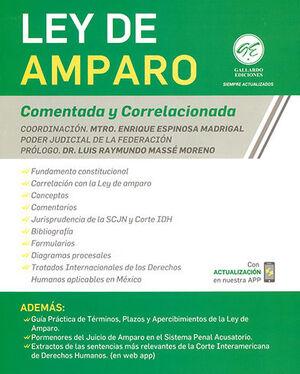 LEY DE AMPARO - COMENTADA Y CORRELACIONADA (2021)