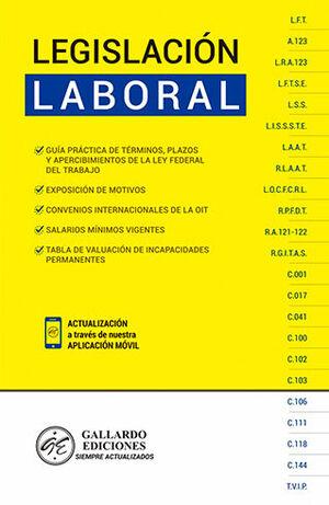 LEGISLACIÓN LABORAL (2021) - NUEVA LEY FEDERAL DEL TRABAJO