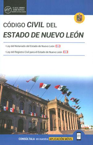 CÓDIGO CIVIL DEL ESTADO DE NUEVO LEÓN