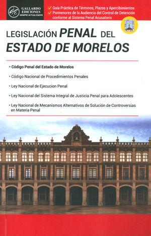 LEGISLACIÓN PENAL DEL ESTADO DE MORELOS