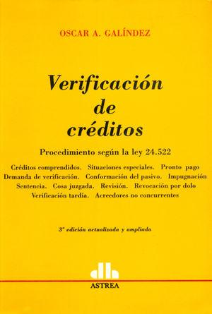 VERIFICACION DE CREDITOS