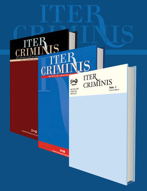 ITER CRIMINIS NO. 18 CUARTA ÉPOCA