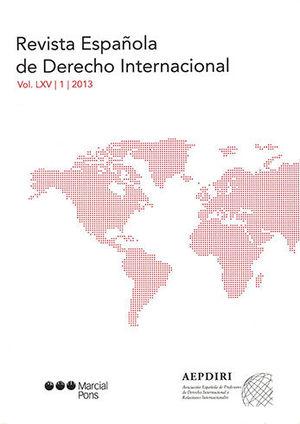 REVISTA ESPAÑOLA DE DERECHO INTERNACIONAL. NÚM.2 - 2013