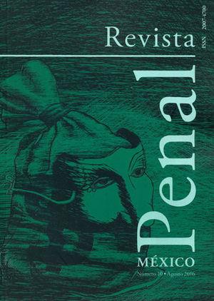 REVISTA PENAL MEXICO NUM. 10 AGOSTO