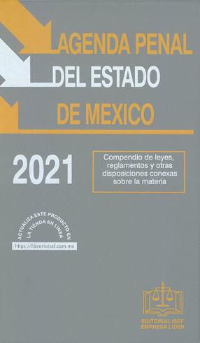 AGENDA PENAL DEL ESTADO DE MÉXICO - 35.ª ED. 2021