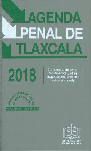 AGENDA PENAL DE TLAXCALA. 2018