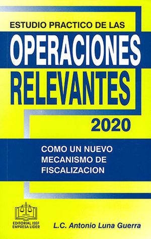 ESTUDIO PRÁCTICO DE LAS OPERACIONES RELEVANTES