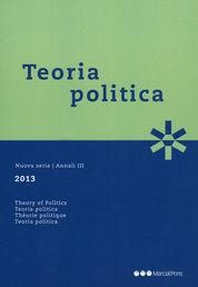 TEORIA POLITICA 2013