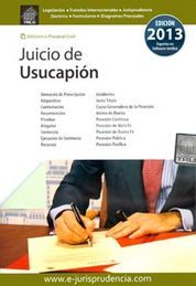 JUICIO DE USUCAPION 2014