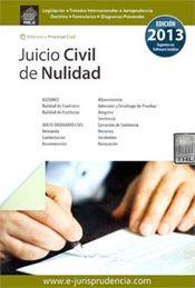 JUICIO CIVIL DE NULIDAD 2014