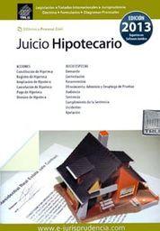 JUICIO HIPOTECARIO 2014
