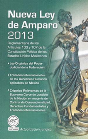 NUEVA LEY DE AMPARO 2013 Y TRATADO DE LOS DERECHOS HUMANOS