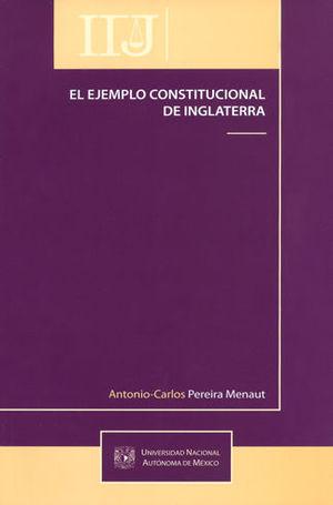 EJEMPLO CONSTITUCIONAL DE INGLATERRA