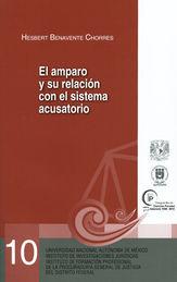 AMPARO Y SU RELACIÓN CON EL SISTEMA ACUSATORIO, EL