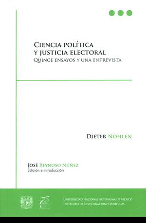 CIENCIA POLÍTICA Y JUSTICIA ELECTORAL