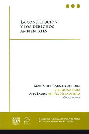 CONSTITUCIÓN Y LOS DERECHOS AMBIENTALES, LA
