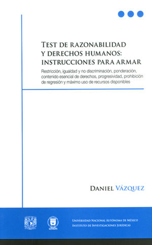TEST DE RAZONABILIDAD Y DERECHOS HUMANOS: INSTRUCCIONES PARA ARMAR