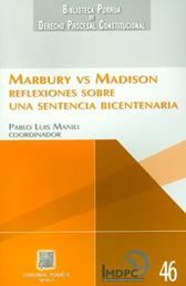 MARBURY VS MADISON - 1ª ED. 1ª REIMPRESIÓN 2015