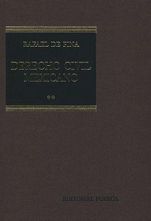 DERECHO CIVIL MEXICANO II (20 EDICIÓN)