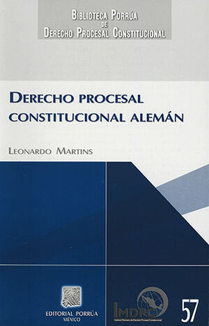 DERECHO PROCESAL CONSTITUCIONAL ALEMAN